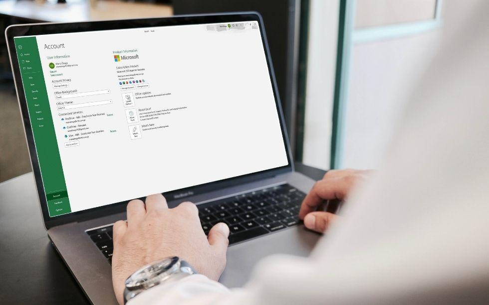 Descobrir a versão do Excel