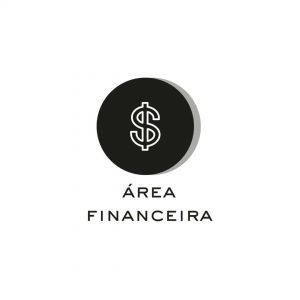 Ícone que representa a área de negócio Área Financeira
